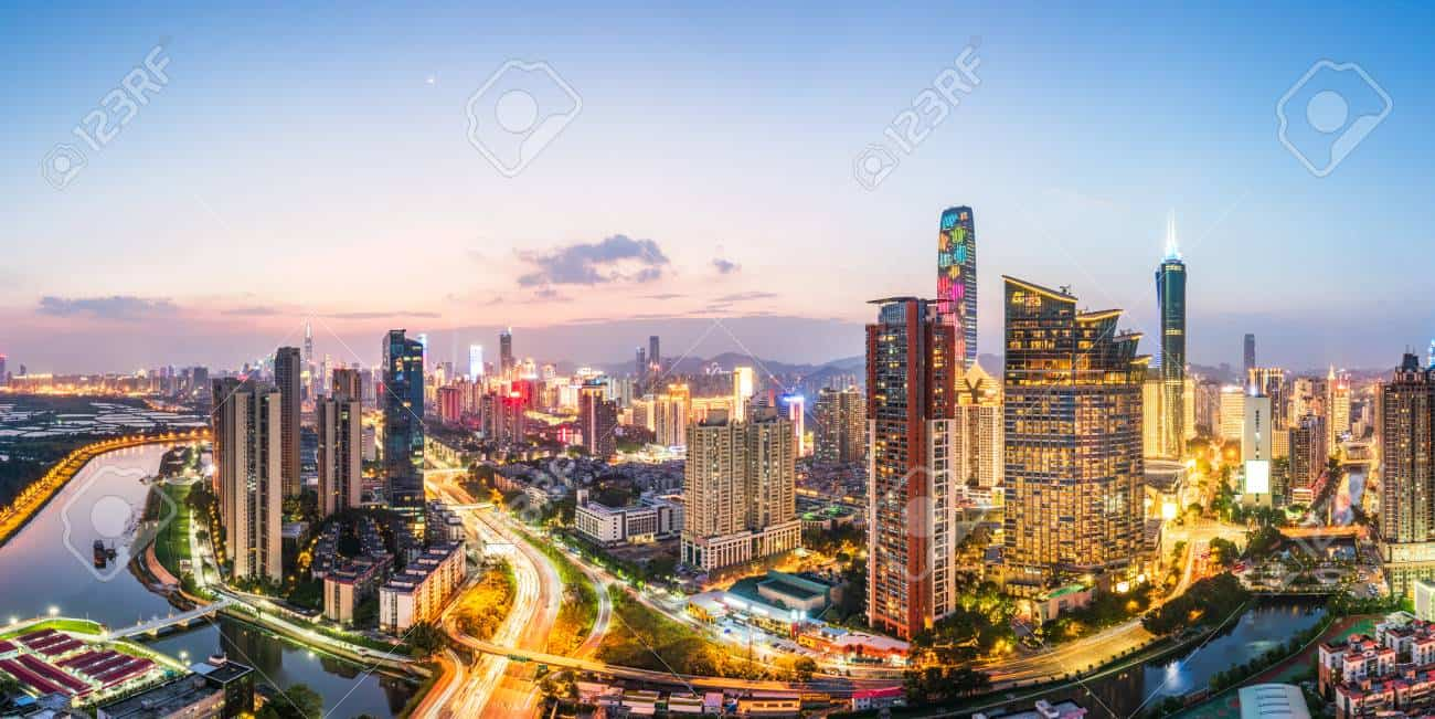 Luohu en Shenzhen