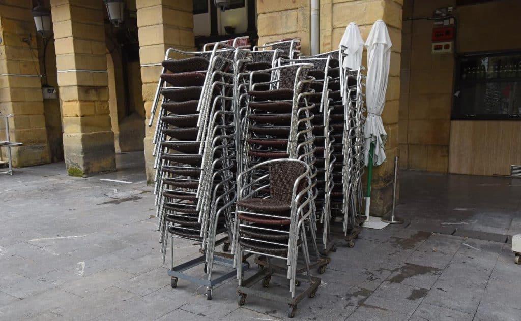 Hostelería cerrada