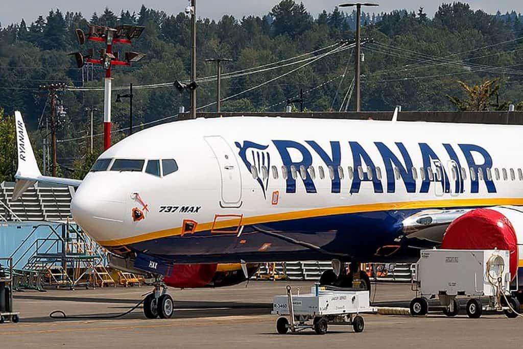 Ryanair Boeing Max
