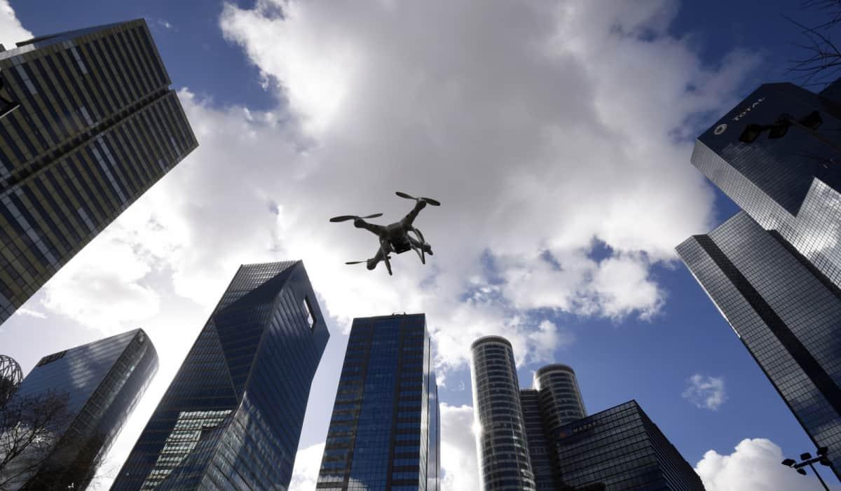 Las inmobiliarias utilizan drones para vender mas pisos rapidamente