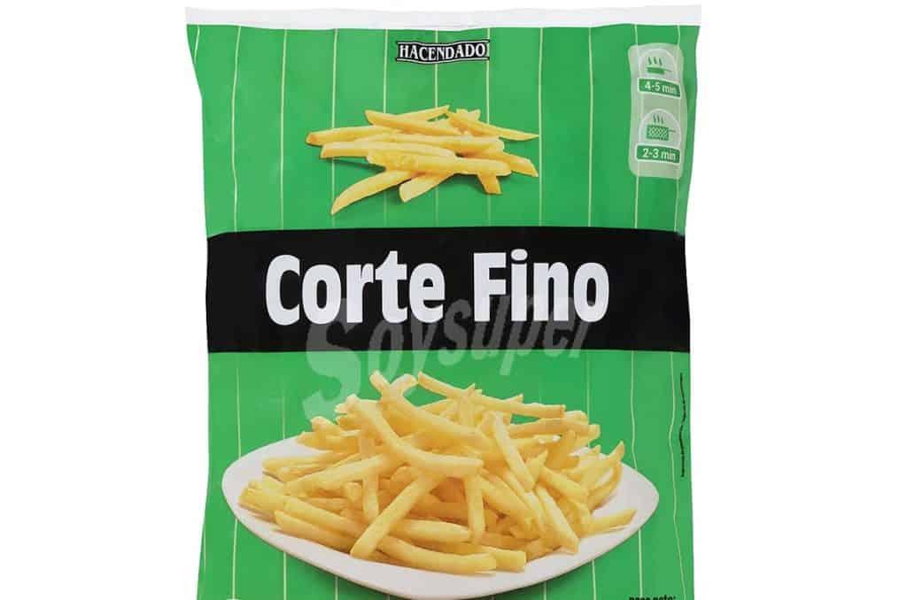 Mercadona patatas fritas