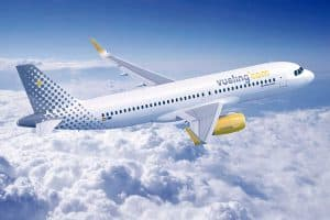 airlines vueling trafico aereo